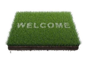 grass-welcome-mat